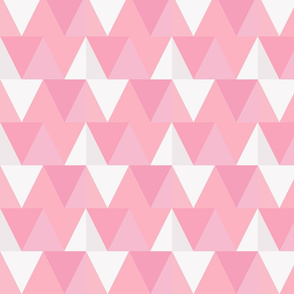 triangles // pink