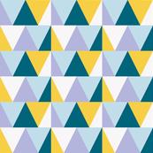 triangles // yellow pop