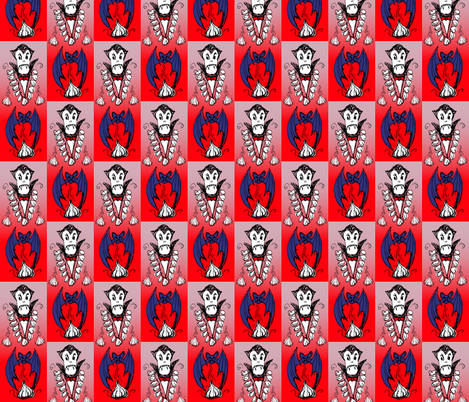 Vampire_Garlic fabric by lindyd on Spoonflower - custom fabric