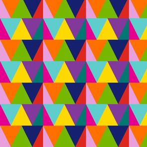 triangles // rainbow