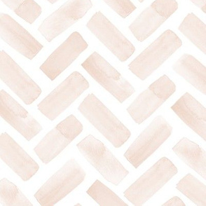 watercolor herringbone - tropics