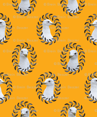 Regal Seagull in Mustard
