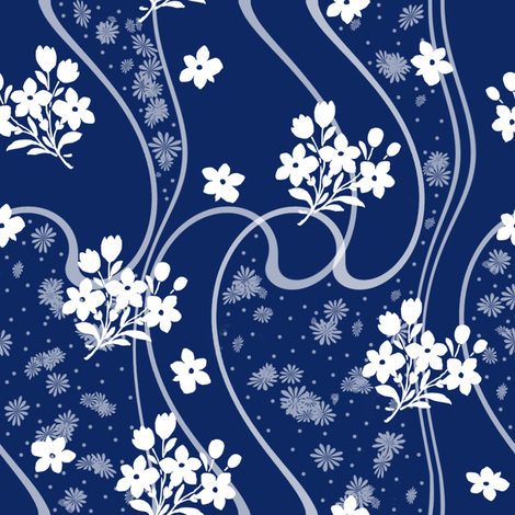 Etta ink fabric by lilyoake on Spoonflower - custom fabric
