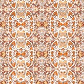 Twisting Orange Garden