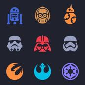 Star W. Icons