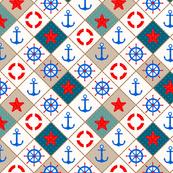 Nautical pattern .
