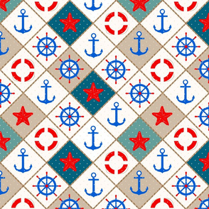 Nautical pattern .