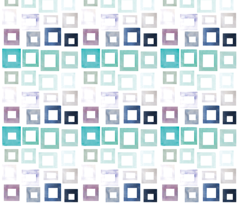 Squares fabric by bees_that_buzz on Spoonflower - custom fabric