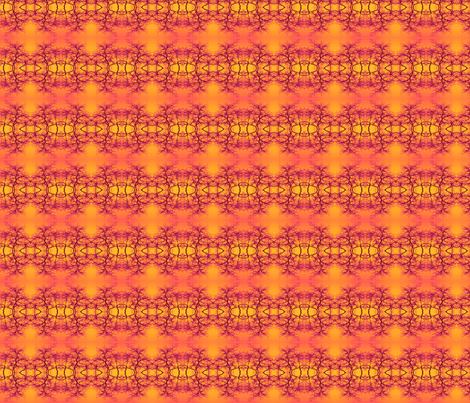 sunset beach fabric by twigsandblossoms on Spoonflower - custom fabric