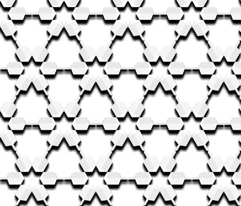 Dreidel Cutouts fabric by anneostroff on Spoonflower - custom fabric