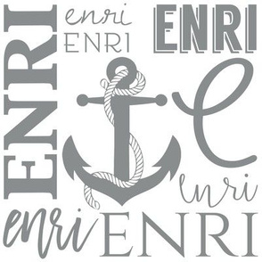 Enri Nautical Anchor