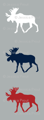 multi moose (grey) - the woodgrove collection