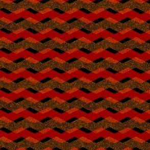 plavron - plaid chevron red