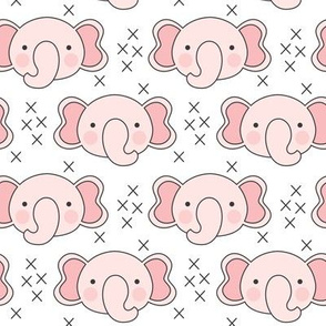 pink elephant faces