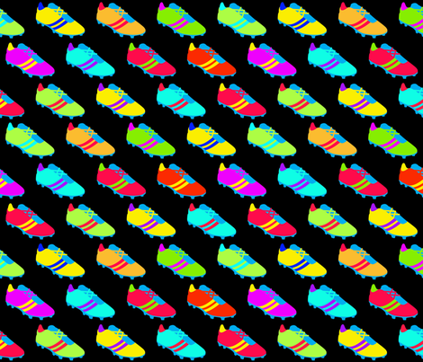 Bright Running Shoes fabric by bags29 on Spoonflower - custom fabric