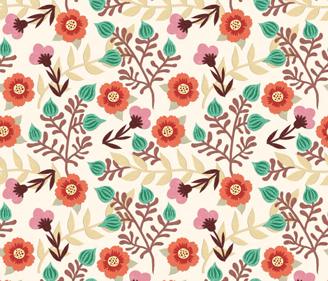fioridicarta fabric by gaiamarfurt on Spoonflower - custom fabric