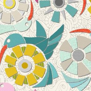 paper sunbirds pearl