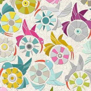 paper sunbirds pearl small