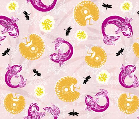 Sea and Sky Sunset fabric by brainsarepretty on Spoonflower - custom fabric