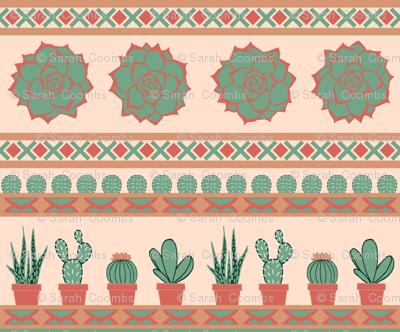 Succulent Stripes