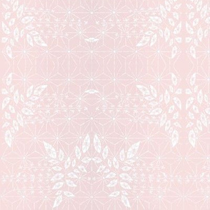 Sunrise Pink Damask