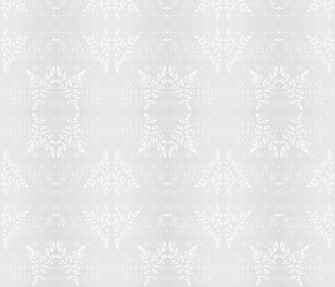 Pale Gray Damask fabric by brainsarepretty on Spoonflower - custom fabric