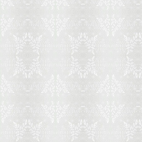 Pale Gray Damask