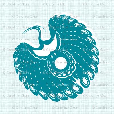 Tropical Southern Crane