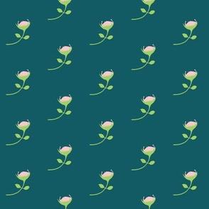 protea - multi pink - medium scale