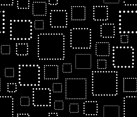 circles_squares_black_white fabric by andrea_prudenciofaggins on Spoonflower - custom fabric