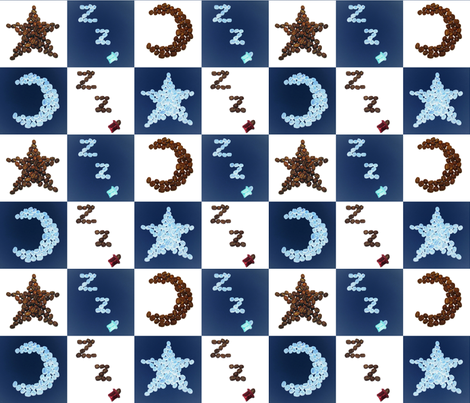 Coffee_Lullaby fabric by kkresica on Spoonflower - custom fabric