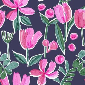 Paper Cut Florals