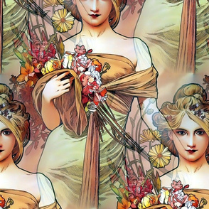 1900 The Seasons Spring