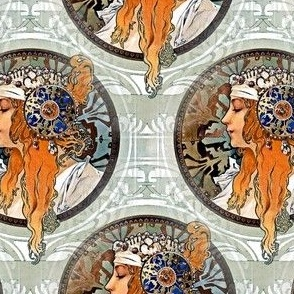 1987 Byzantine Heads Blonde