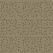 bird tracks // mud& brown