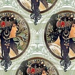 1987 Byzantine Heads Brunette