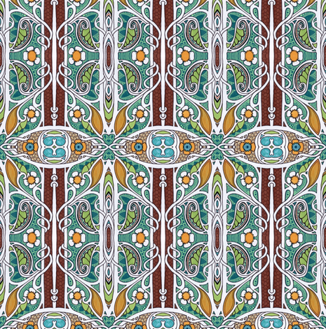 Just Stay Sweet fabric by edsel2084 on Spoonflower - custom fabric