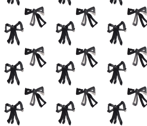 Bold Bows fabric by j_e_c_scott on Spoonflower - custom fabric