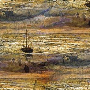 1882 View Of The Sea At Scheveningen