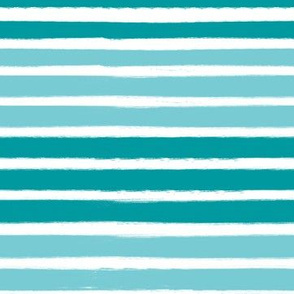 turquoise stripes fabric