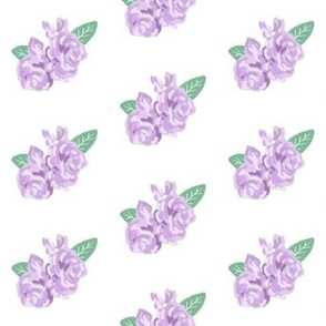 floral purple fabric