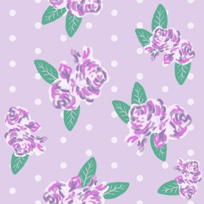 light purple floral fabric purples fabric