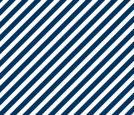 diagonal fabric navy  stripes fabric fabric by charlottewinter on Spoonflower - custom fabric