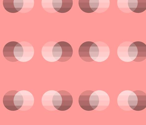 Opposites: Venn Diagram fabric by jennifer_spanos on Spoonflower - custom fabric