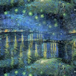 1888 Starry Night Over the Rhone