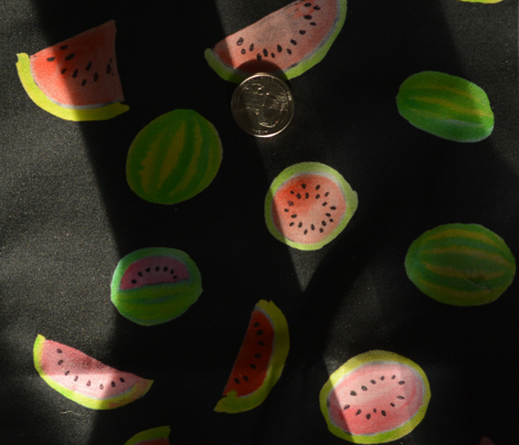 Watermelons on Black