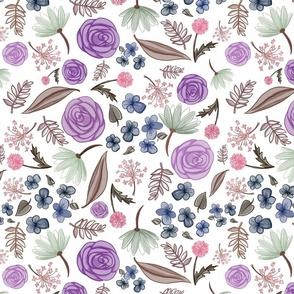 Sweet pea floral