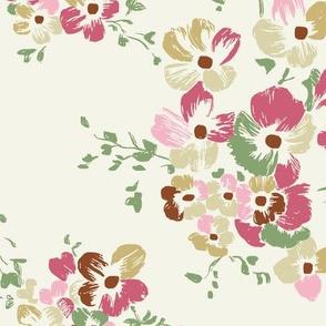 Nancy Floral - Ivory