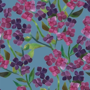 Paper Cut Hydrangea