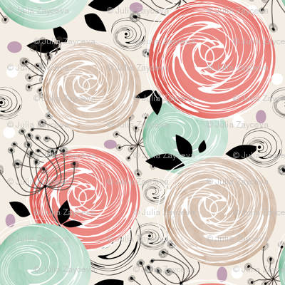 Abstract Roses .
